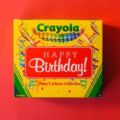 With Crayola My Way you can now put your name on Crayola boxes! What?