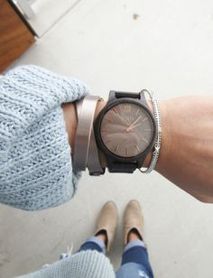 The cutest JORD wood watch in the style Frankie