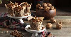 Festive Recipes: 4 συνταγές για εορταστικό brunch στο σπίτι Muffin Recipes, Raw Food Recipes, Christmas Muffins Recipe, Nutrition Chart, Processed Sugar, Good Fats, Recipe For 4, Food Festival, Vegan Snacks
