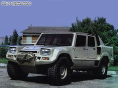 Lamborghini LM001 Prototype (1981) - one of the main differences from the production LM002 is the engine is mounted at the rear.