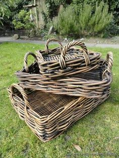 Wicker baskets - the perfect addition to any garden | eBay UK