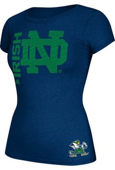 Adidas University of Notre Dame Fighting Irish Women's T-Shirt | University Of Notre Dame