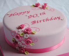 Birthday Cake julie P – love this one. 2 shades of green Bi. Birthday Cake julie P – love this one. 2 shades of green Birthday Cake, but us 90th Birthday Cakes, Birthday Cakes For Women, 90 Birthday, Pretty Cakes, Beautiful Cakes, Torte Rose, Fondant Cakes, Cupcake Cakes, Novelty Cakes