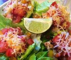 ... FRIDGE DOOR ~ Sweet & Spicy Chicken Taco Lettuce Wraps | Macaroni Kid