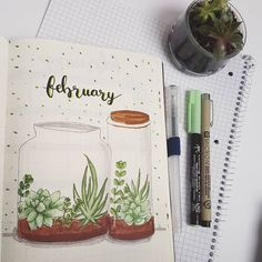26 Bullet Journal Monthly Covers Youll Want To Copy - Gorgeous Crafts