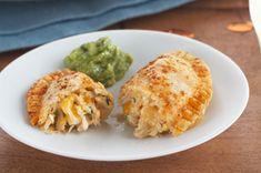 Empanadas de pollo con queso receta