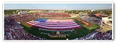 Texas State University Prints  Stadium Opening Day 2012