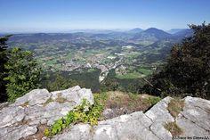 Le Belvédère de None - Vue sur Saint-Laurent-du-Pont - Massif de la Chartreuse - Randonnée Montagne Isère Alpes