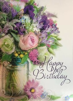Free Happy Birthday Cards Printables May your birthday be filled with wonderful surprises! The post Free Happy Birthday Cards Printables appeared first on Ideas Flowers. Happy Birthday Flowers Wishes, Happy Birthday Bouquet, Free Happy Birthday Cards, Happy Birthday Wishes Quotes, Birthday Wishes And Images, Birthday Blessings, Happy Birthday Pictures, Happy Birthday Greetings, Happy Wishes