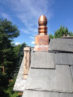Copper Chimney Cap Orange County Rockland County Ny