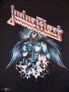 Painkiller Summer US Tour 1991 Painkiller US Summer tour shirt 1991 from NoahM Metal On Metal, Heavy Metal Art, Heavy Metal Rock, Heavy Metal Bands, Rock Posters, Band Posters, Rock And Roll Bands, Rock N Roll, Judas Priest Logo