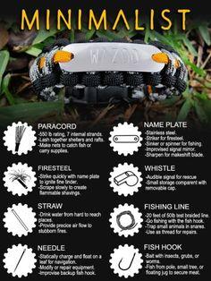 Full Review: The Wazoo Survival Gear Minimalist Survival Bracelet