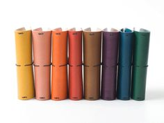 Leather Notebook Cover Moleskine Pocket by SiroganeLeatherWorks, $49.00