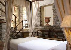 Florence Italy - A suite Torre tem decoração medieval -