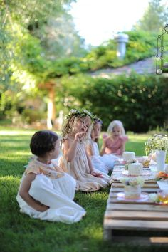 childrens garden party | Party Ideas | Pinterest