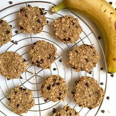 cookie banane avoine