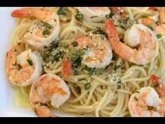 ▶ SHRIMP SCAMPI - A DELICIOUS ITALIAN PASTA DISH WITH LOT'S OF GARLIC, WINE, BUTTER, PARSLEY - YOUTUBE