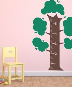 """Pottery Barn Kids Growth Chart Wall Decal Mural Height 30/"""" x 60/"""" NEW"""