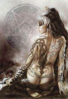 heavy metal art women fantasy art warrior women