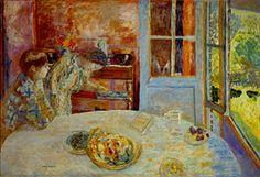 Pierre Bonnard, La Salle à manger, Vernon, vers 1925, huile sur toile, Ny Carlsberg Glyptotek, Copenhagen © Adagp, Paris 2016 © Photo Ole Haupt