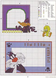Gallery.ru / Фото #5 - LA-3118 Fun-Tastic Frames in cross stitch - tymannost