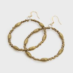 Keranga Hoop Earrings by Raven + Lily | DARA Artisans