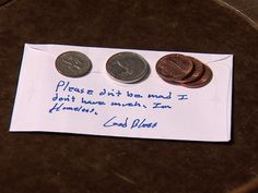 Homeless person donates priceless gift to church I Wish more People had such a Generous Heart
