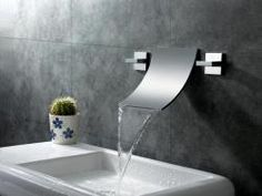 @Overstock.com - Sumerain Waterfall Bathroom Sink Faucet - This high-quality faucet from Sumerain was designed to bring a modern and fun feel into any bathroom with its waterfall style. Constructed of stainless steel with a chrome finish, this faucet will update any bathroom decor.   http://www.overstock.com/Home-Garden/Sumerain-Waterfall-Bathroom-Sink-Faucet/7008768/product.html?CID=214117 $300.00