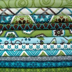 Pillows? Roman shade? This collection is perfect for the craft room!