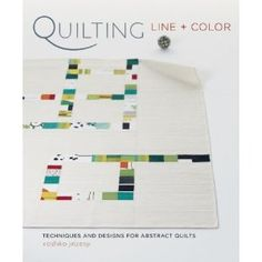 I am in love with the photo on this book. Wanted to order, but all reviews say the photos are all annoyingly artsy and out of focus.  This shot is giving me cool quilt ideas, though.