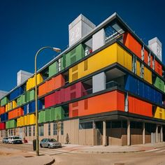 #Madrid #Spain #España #city #architecture #modern #social #Carabanchel #visitspain