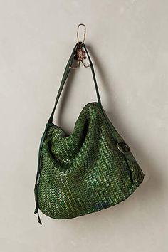 Mae Woven Hobo Bag - #anthroregistry