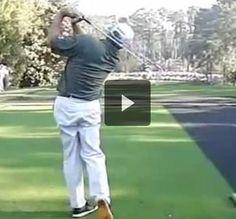 Fred Couples Slow Motion Iron Swing PGA Tour  http://www.powerchalk.com/video/4963_5CEE59BF-5EE3-E7B1-07AD-B61BEA66E666/play