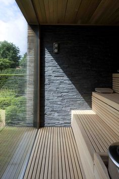 Diy Sauna, Sauna House, Sauna Room, Outdoor Sauna, Outdoor Baths, Design Hotel, Design Design, Sauna Wellness, Natural Swimming Pools