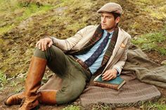 The Preppy Fox — ivy-league-style: Country Gentleman Gentleman Mode, English Gentleman, Gentleman Style, Rugged Style, British Country Style, Countryside Fashion, Ivy League Style, Polo Ralph Lauren, Preppy Men