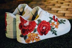 "Nike Air Force 1 ""'Flowerbomb"" Custom"