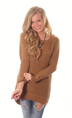 carefree tunic sweater
