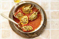Peperoni sind ein Gemüse, das zum Befüllen äusserst beliebt ist. Sie bieten viel Platz für die feine Füllung.