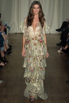 See the Marchesa Spring 2015 collection on Vogue.com.