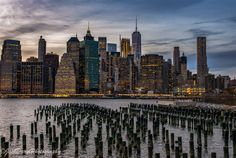 Lower Manhattan from Brooklyn Bridge Park by  Jack Daryl Photography - New York City Feelings