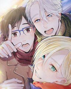 Awe their so cute! ⛸ ⛸ ⛸ ⛸ ⛸ ⛸ ⛸ ⛸ ⛸  Credit to artist  #yuriplisetsky #yuurikatsuki #victornikiforov #yoi #yurivictor #yuuriyuri #ユーリ #shitpost #trash #iceskate #yaoi #yurio #anime #manga #cute #gay #ship #iceskate #katsuki #plisetsky #iceskating #yurionice #nikiforv