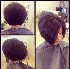 Bob cut #hairbyamberhefley