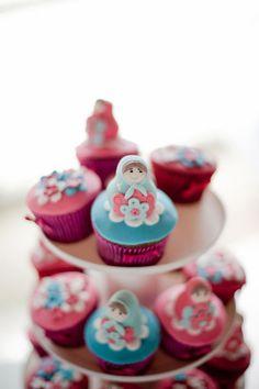 Matryoshka Cupcakes
