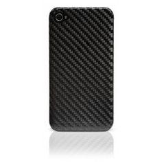 Carbon Cover iPhone 4 / 4S  Cover in autentica fibra di carbonio adatta a proteggere e personalizzare il tuo iPhone.  Semplice da montare, ripara il tuo iPhone da urti e cadute.  È antigraffio, antiurto, leggera e disperde il calore.  Compatibile solo con iPhone 4 e iPhone 4S.