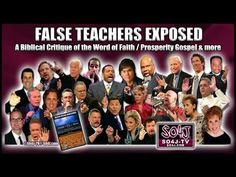 FALSE TEACHERS EXPOSED: Word of Faith/Prosperity Gospel | by Justin Peters. A very sobering word needed in the body of Christ.