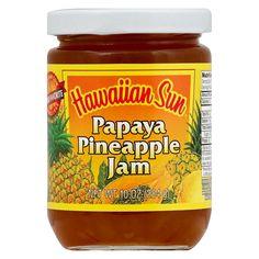 Hawaiian Sun Papaya - Pineapple Jam - 10oz