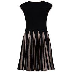 Ted Baker Aleece Full Skirt Knit Dress, Black