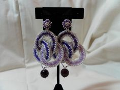 Earrings from Bead & Button