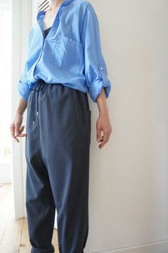 [ Olta Design Garments ] SAROUEL EASY PANTS www.lancah.com