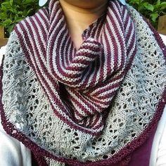 Free Knitting Pattern for Muh-muhs Shawl